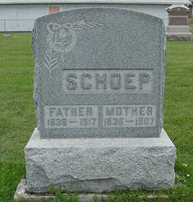 SCHOEP, MOTHER - Sioux County, Iowa | MOTHER SCHOEP