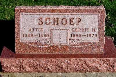 SCHOEP, ATTIE - Sioux County, Iowa | ATTIE SCHOEP