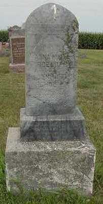 SCHOLTEN, ANNA MARIA (MRS. GERHARD) - Sioux County, Iowa | ANNA MARIA (MRS. GERHARD) SCHOLTEN