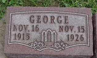 SCHOLTEN, GEORGE - Sioux County, Iowa   GEORGE SCHOLTEN