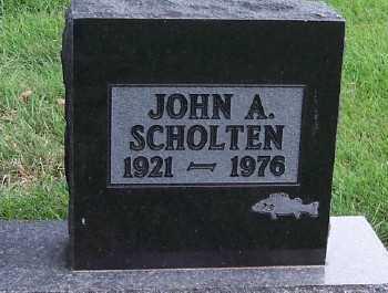 SCHOLTEN, JOHN A. - Sioux County, Iowa | JOHN A. SCHOLTEN