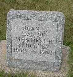 SCHOLTEN, JOAN J. - Sioux County, Iowa | JOAN J. SCHOLTEN