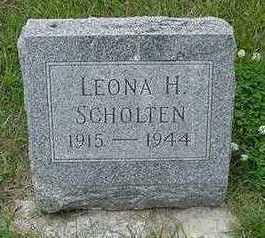SCHOLTEN, LEONA H. - Sioux County, Iowa | LEONA H. SCHOLTEN