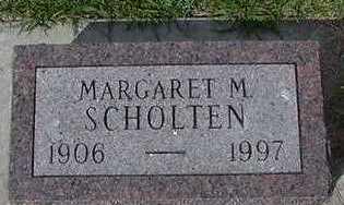 SCHOLTEN, MARGARET - Sioux County, Iowa | MARGARET SCHOLTEN