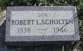 SCHOLTEN, ROBERT L. - Sioux County, Iowa | ROBERT L. SCHOLTEN