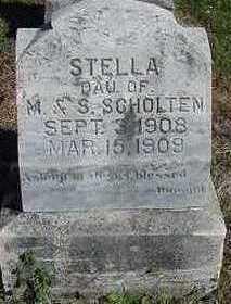 SCHOLTEN, STELLA - Sioux County, Iowa | STELLA SCHOLTEN