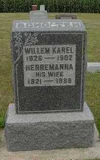 SCHOLTEN, WILLEM KAREL - Sioux County, Iowa   WILLEM KAREL SCHOLTEN
