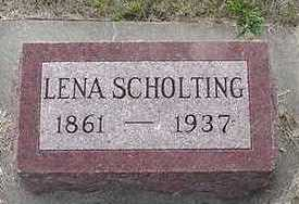 SCHOLTING, LENA - Sioux County, Iowa | LENA SCHOLTING