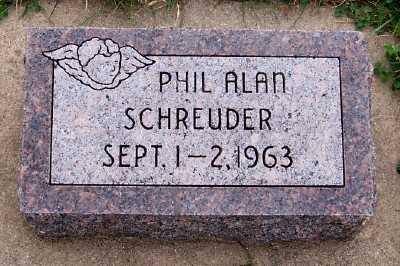 SCHREUDER, PHIL ALAN - Sioux County, Iowa   PHIL ALAN SCHREUDER