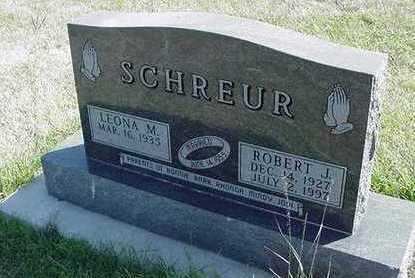 SCHREUR, LEONA M. (MRS. ROBERT) - Sioux County, Iowa   LEONA M. (MRS. ROBERT) SCHREUR
