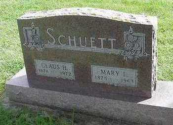 SCHUETT, CLAUS H. - Sioux County, Iowa | CLAUS H. SCHUETT
