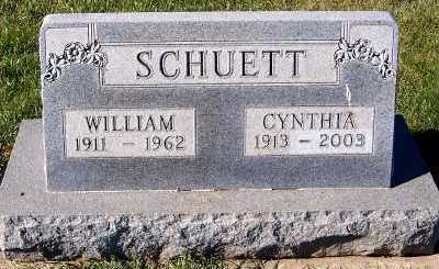 SCHUETT, WILLIAM - Sioux County, Iowa | WILLIAM SCHUETT