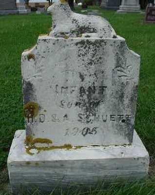 SCHUETTE, INFANT SON - Sioux County, Iowa | INFANT SON SCHUETTE