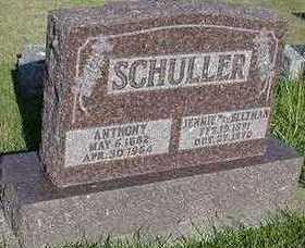 SCHULLER, JENNIE - Sioux County, Iowa | JENNIE SCHULLER