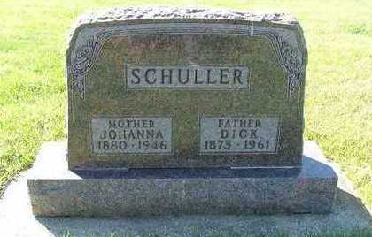 SCHULLER, DICK - Sioux County, Iowa | DICK SCHULLER