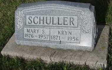 SCHULLER, KRYN - Sioux County, Iowa   KRYN SCHULLER