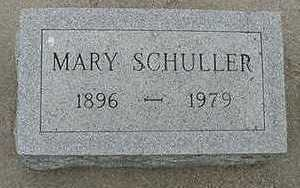 SCHULLER, MARY - Sioux County, Iowa | MARY SCHULLER