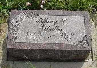 SCHULLER, TIFANY - Sioux County, Iowa   TIFANY SCHULLER