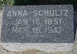 SCHULTZ, ANNA - Sioux County, Iowa   ANNA SCHULTZ