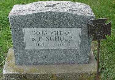SCHULZ, DORA (MRS. B. P. ) - Sioux County, Iowa | DORA (MRS. B. P. ) SCHULZ