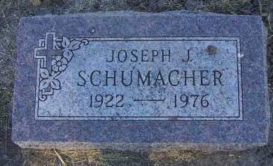 SCHUMACHER, JOSEPH J. - Sioux County, Iowa | JOSEPH J. SCHUMACHER