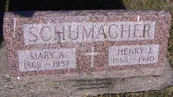 SCHUMACHER, MARY A. - Sioux County, Iowa | MARY A. SCHUMACHER