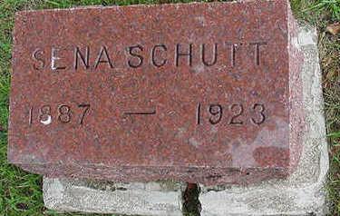 SCHUT, SENA - Sioux County, Iowa   SENA SCHUT