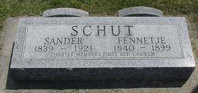 SCHUT, FENNETJE (TENHOUTEN) - Sioux County, Iowa | FENNETJE (TENHOUTEN) SCHUT