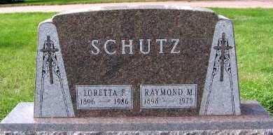 SCHUTZ, LORETTA F. - Sioux County, Iowa | LORETTA F. SCHUTZ