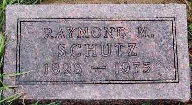SCHUTZ, RAYMOND M. - Sioux County, Iowa   RAYMOND M. SCHUTZ