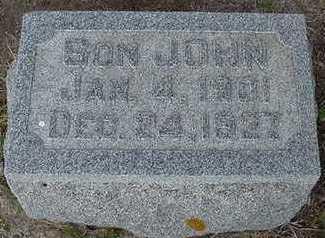 SCHUURMAN, JOHN - Sioux County, Iowa   JOHN SCHUURMAN