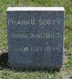SCOTT, FRANK - Sioux County, Iowa | FRANK SCOTT
