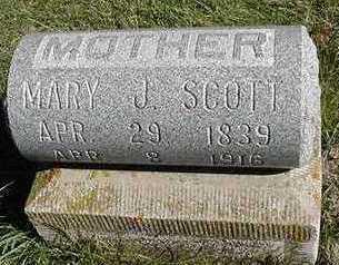 SCOTT, MARY J. - Sioux County, Iowa | MARY J. SCOTT