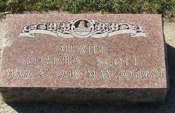 DEVRIES SCOTT, MURIEL - Sioux County, Iowa | MURIEL DEVRIES SCOTT