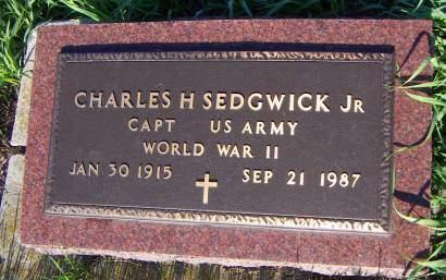 SEDGWICK, CHARLES JR. - Sioux County, Iowa | CHARLES JR. SEDGWICK