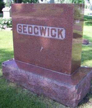 SEDGWICK, HEADSTONE - Sioux County, Iowa | HEADSTONE SEDGWICK
