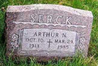 SERCK, ARTHUR N. - Sioux County, Iowa | ARTHUR N. SERCK