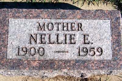 SERCK, NELLIE E. - Sioux County, Iowa | NELLIE E. SERCK