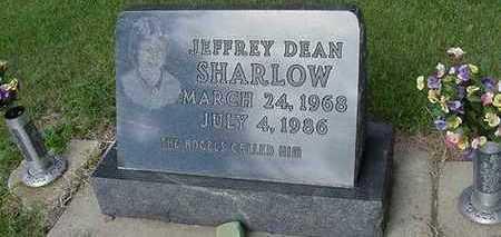 SHARLOW, JEFFREY DEAN - Sioux County, Iowa   JEFFREY DEAN SHARLOW