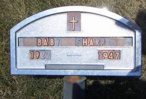 SHARP, BABY - Sioux County, Iowa | BABY SHARP