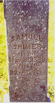 SHIMER, SAMUEL - Sioux County, Iowa | SAMUEL SHIMER