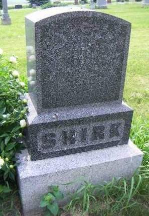 SHIRK, CAROLINE - Sioux County, Iowa | CAROLINE SHIRK