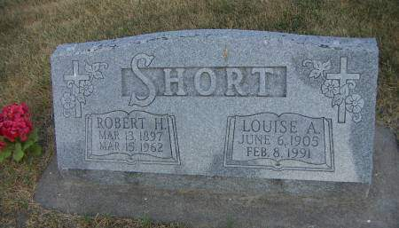 SHORT, LOUISE A. - Sioux County, Iowa | LOUISE A. SHORT