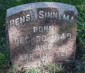 SINNEMA, RENSE - Sioux County, Iowa | RENSE SINNEMA