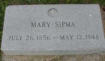 SIPMA, MARY - Sioux County, Iowa | MARY SIPMA