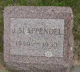 SLAPPENDEL, J.  S. - Sioux County, Iowa | J.  S. SLAPPENDEL