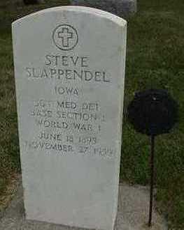 SLAPPENDEL, STEVE - Sioux County, Iowa   STEVE SLAPPENDEL