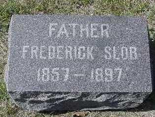 SLOB, FREDERICK D.1897 - Sioux County, Iowa   FREDERICK D.1897 SLOB