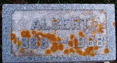 SLOTHOUBER, ALBERT - Sioux County, Iowa | ALBERT SLOTHOUBER
