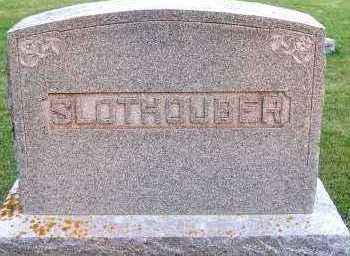 SLOTHOUBER, FAMILY HEADSTONE - Sioux County, Iowa | FAMILY HEADSTONE SLOTHOUBER
